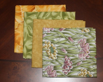 Windham Fabrics, Kona Bay and RJR's fat quarter combination, a 4 piece bundle.