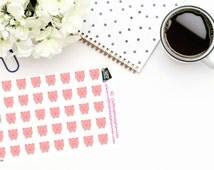 Planner Stickers|Savings Stickers| Financial Planning|Piggy Bank|Erin Condren| Inkwell Press| DokiBook| Personal Planner|Happy Planner| D030