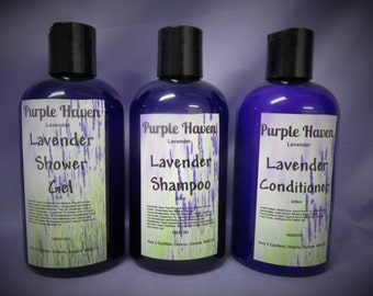 Lavender Body & Hair Pack