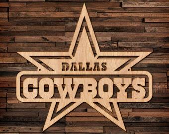 Dallas Cowboys Wall Art dallas cowboys wall art | etsy