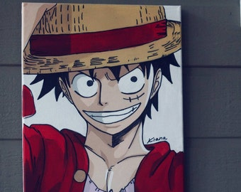 Monkey D Luffy Painting