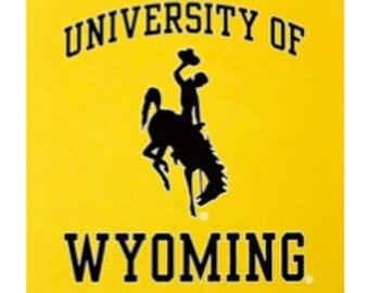 University of Wyoming Coasters (set of 4)