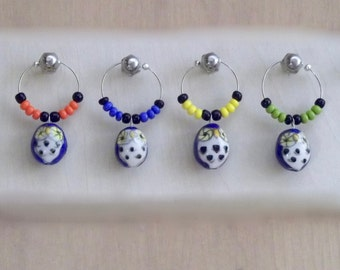 Hoot Owls Wine Charms