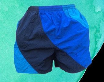 90's Stripe Board Shorts Chubbys Short Shorts