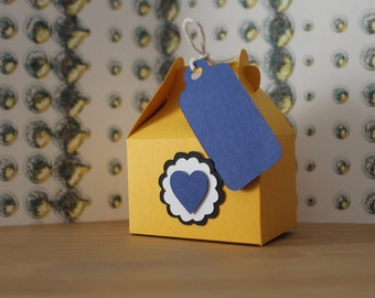 Customizable wedding confetti box/customizable Wedding favor boxes/Dragée box/Jordan Almond boxes Candy box