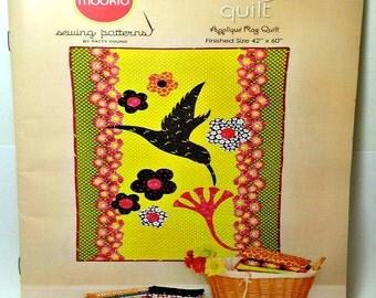 Modkid Hummingbird Quilt Pattern / Modkid Sewing Patterns / Quilt Pattern / Sewing Pattern / Hummingbird Quilt