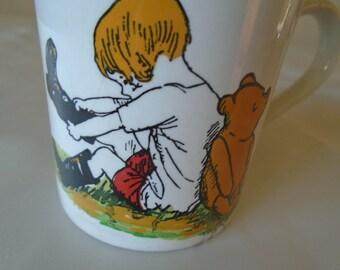 winnie the poo vintage mug