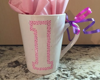 Personalized Initial Coffee Mug