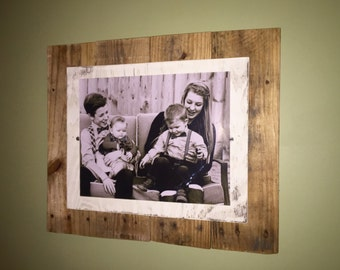 Vertical Rustic 8x10 Photo Frame