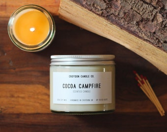 COCOA CAMPFIRE Soy Jar Candle