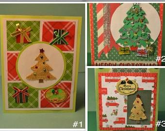 Christmas Tree Handmade card