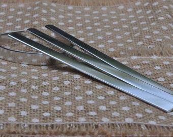 150 Polished 3/8' x 6' Bracelet Cuff Blanks 14 Gauge 1100 Food Safe Aluminum- FLAT