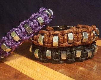 The Hex Nut 2 Paracord Survival Bracelet