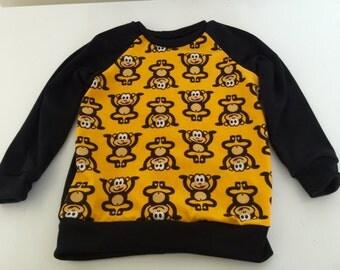Handmade Size 3 Monkey sweater
