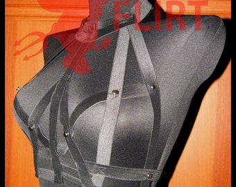 Spiked Chest Harness Collar Harness