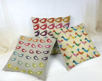 Pretty Little Birdies Decorative Pillows