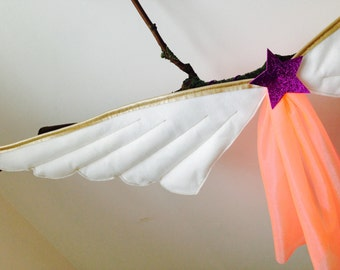 Lovely Children's Dressing up Costume Fairy Angel Party Wings
