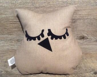 Doudou OWL plain brown