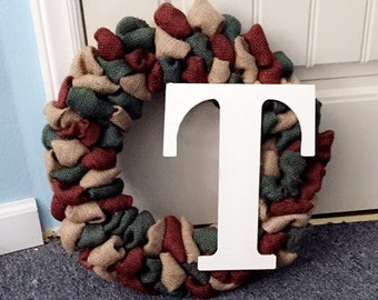 Army Camouflage Wreath
