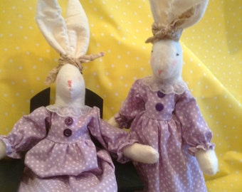 country rabbit, Easter rabbit, rabbit,home decor,Easter decor,holiday decor