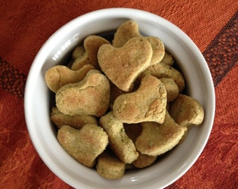 Diabetic GF Healthy Hearts Dog Treats