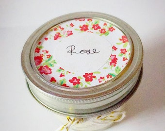 Rose Handmade Soy Candle