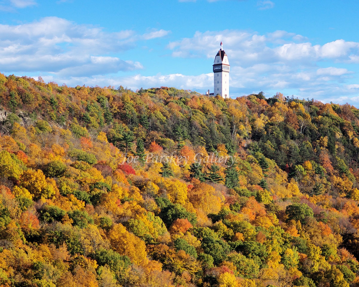 Autumn Colors Of Talcott Mountain Heublein Tower Simsbury