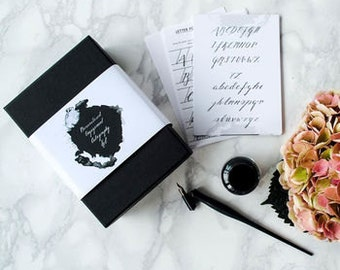 Personalised Engagement Calligraphy Kit