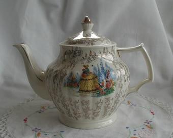 Sadler Crinoline Lady Teapot