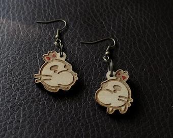 Mr. Saturn Earrings