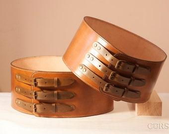 "Belt leather men ""Cheres"""
