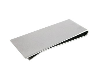 Stainless Steel Plain Money Clip