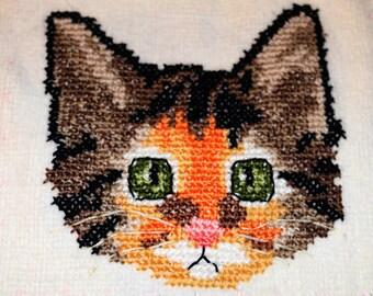Baby Bib- Calico Cat