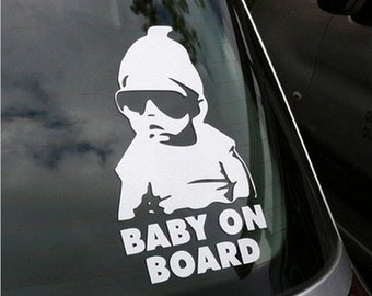 The Hangover Baby On Board Car Truck Laptop Wall Vinyl Decal Sticker