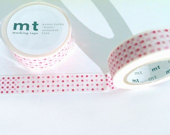MT Washi Tape red dots