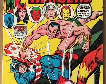 Vintage The Avengers - Marvel Comic Book - Issue 117 - Bronze Age (1973)