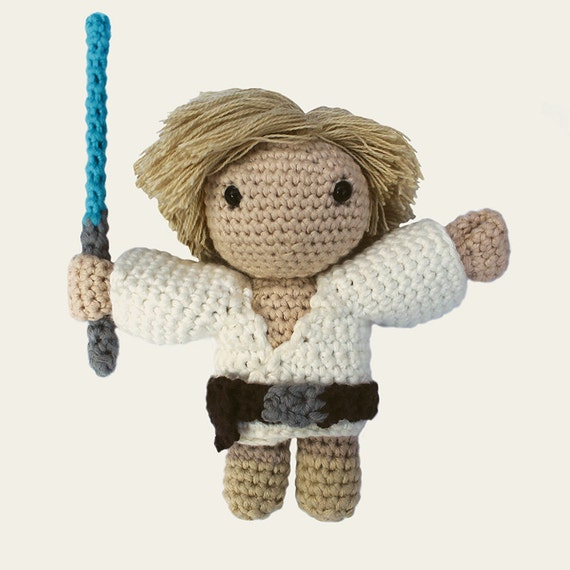 Luke Skywalker Crochet Pattern