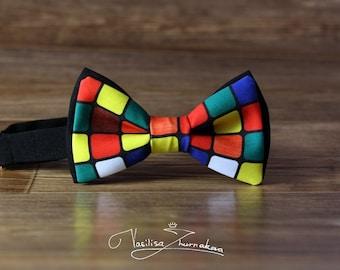 Rubik's Cube Bow tie - Bowtie