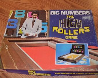Vintage board game - Big Numbers The High Rollers Game 1975