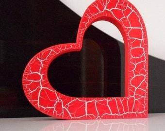 Heart Handpainted