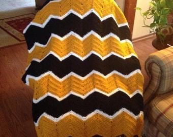 Mizzou Ripple blanket