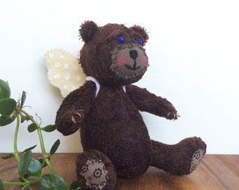 Little bear with wings, OOAK