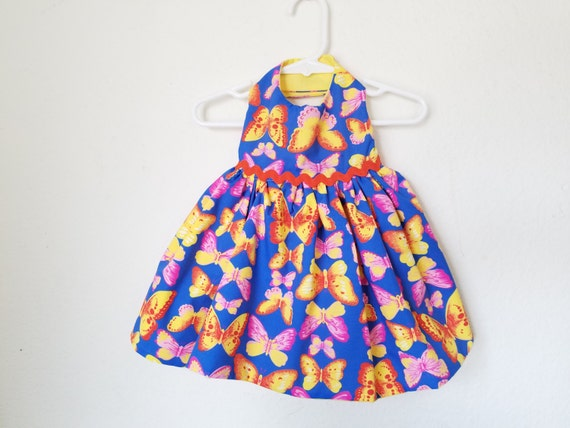 Butterfly Dress for Cats or Small Dogs