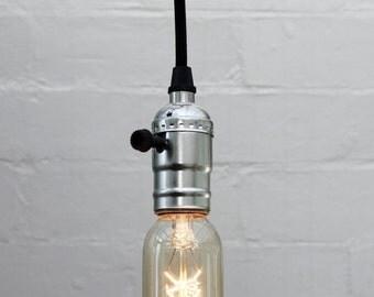 Exposed Edison T45 Light Bulb Hanging Set