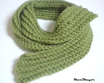 Chunky Crochet Scarf, Bufanda ganchillo