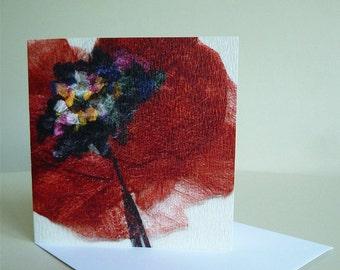 Poppy - Bloom Notecard