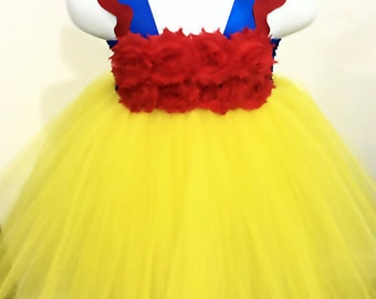 Snow White Tutu Dress, Party, Halloween, Birthday, Tutu Dress