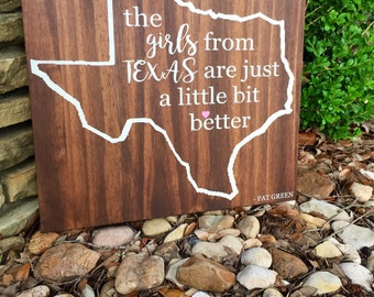 The girls from Texas are just a little bit better.
