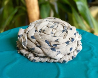 PIN in silk and cotton