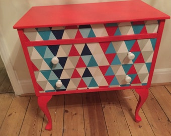 Upcycled Queen Ann Chest Of Drawers